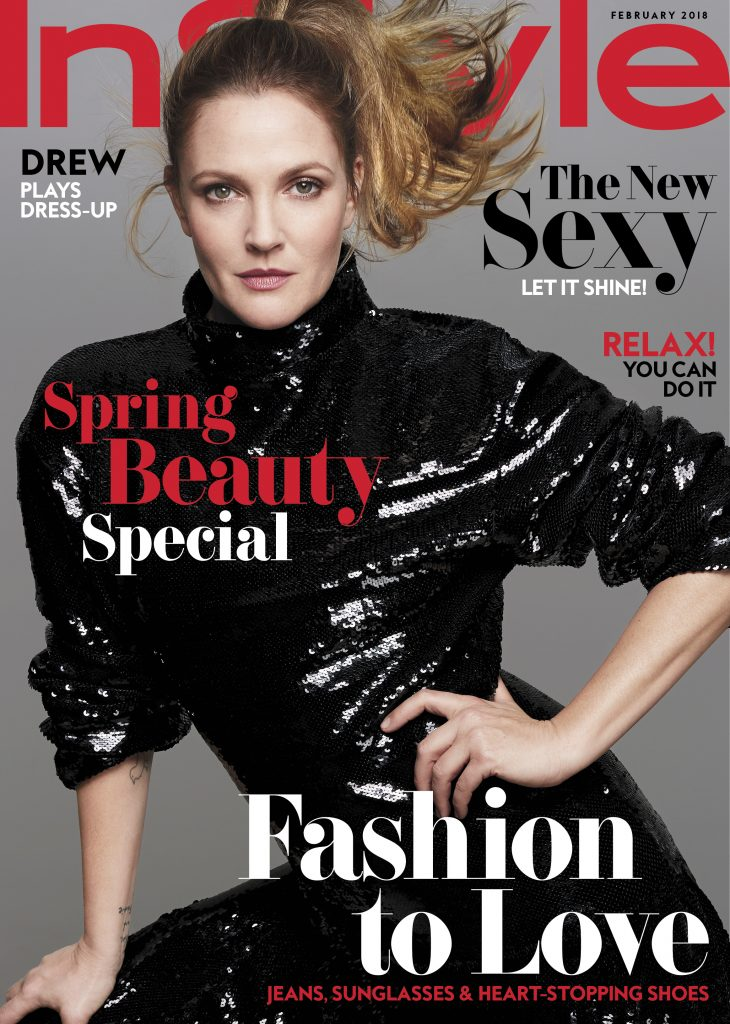 1 InStyle Feb18 Drew Barrymore