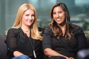 Allison Statter and Sherry Jhawar