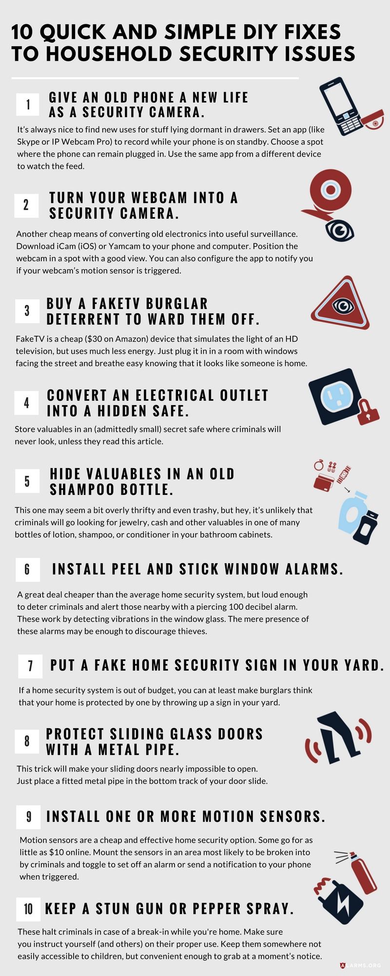 10 Quick and Simple DIY Fixes to Common Household Security Issues