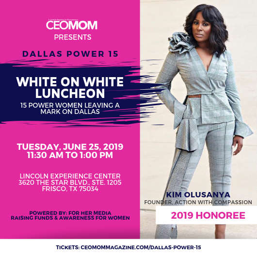 CEOMOM White on White Luncheon Promo Kim O